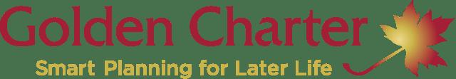 The golden charter logo